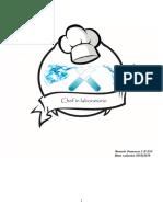 Chef in laboratorio -  Ravasio Francesca
