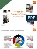 Romanian Consumer Trends Presentation