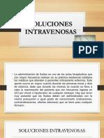 soluciones intravenosas -venoclisis