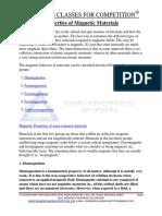 Properties of Magnetic Materials.docx