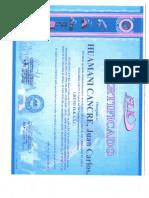 Certificados de Rigger