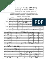Reicha 91-3 1st Score
