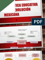 La Política Educativa de La Revolución Mexicana