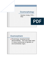 dysmorphology