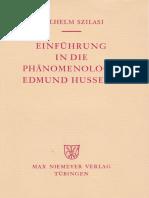 Wilhelm Szilasi-Einführung in die Phänomenologie Edmund Husserls-Max Niemeyer (1959).pdf