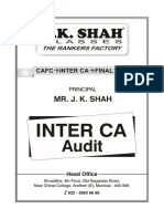 CA Inter Audit Jksc