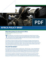 What Money Means for Terrorism in Africa