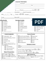 consumer information form 2-15
