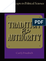 (Key Concepts in Political Science) Carl J. Friedrich (Auth.)-Tradition and Authority-Macmillan Education UK (1972)