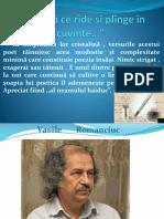 1)Vasile Romanciuc,,Albina''