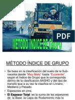 Indice Grupo