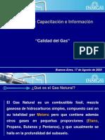 Calidad Del Gas