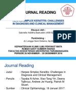 Journal HSV Keratitis