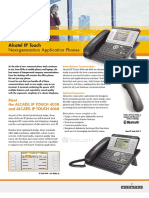 IP Touch Datasheet