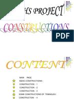 Constructions (2)
