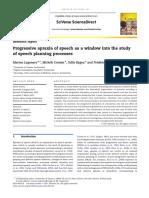 2012. Cortex. Progressive apraxia of speech as window into the study of speech planning processes (Laganaro et al.).pdf