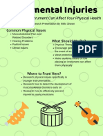 research presentation poster