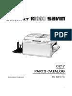 Parts Catalog RicoH VT1730
