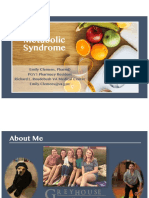 metabolic syndrome slides final