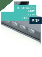 Iluminación RGBW