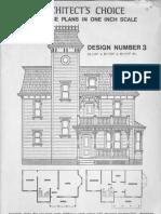 Architects Choise Design Number 3 Dollhouse