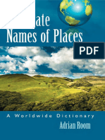 Alternate Names of Places