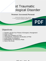 Nursing Role in PTSD - Post Disaster