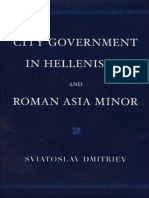 City Government in Hellenistic and Roman Asia Minor.pdf