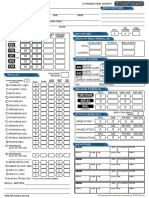 Starfinder - Character Sheet (fillable)