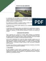 Proyecto de Carretera