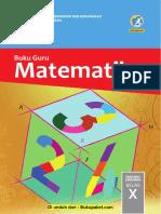 Buku Guru Matematika Kelas x