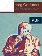 Gadamer, Hans-Georg. - El Movimiento Fenomenologico