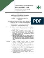 EP.9.4.4.1 SK PENYAMPAIAN INFORMASI HASIL PENINGKATAN MUTU LAYANAN KLINIS DAN KESELAMATAN PASIEN.doc