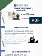 Tema 3 El Entrevistador