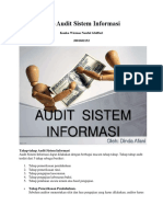 Tahap Tahap Audit Sistem Informasi1
