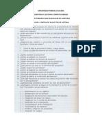 Cuestionario Para La Auditoria de Sistemas
