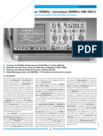 Hameg analog oscilloscope