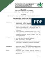 SK Pengelola Data Dan Informasi Puskesmas