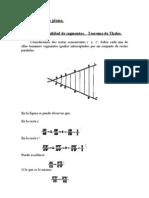 Geometría plana teoría