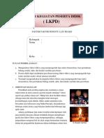 Lkpd Faktor Faktor Penentu Laju Reaksi Acc