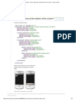 Android - How to Align Views at the Bottom of the Screen_ - Stack Overflow