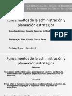fundamentos administracion estrategica
