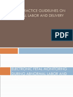 Abnormal Labor and Delivery CK