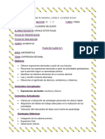 PLAN DE CLASE N° 2  MATEMATICA.docx