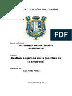 Plantilla de Proyecto Final Gestion Logistica & Seguridad de La Informacion