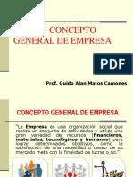 1 - Concepto General de Empresa