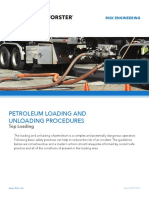 Petroleum-Loading Unloading Top loading