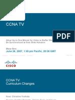 CCNA Changes