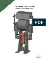 92 Disc Brake Adjustments Standard 102 091 Monitor E 163
