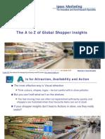IpsosMarketing-Presentation-The a to Z of Global Shopper